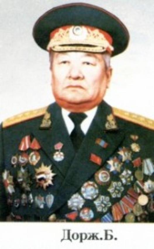 Монгол цэргийн нэрт жанжин Батын Дорж